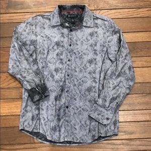 INC Double Printed L/S Button Down